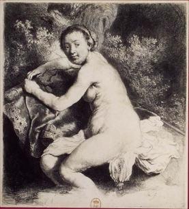 Mujer desnuda - Rembrand