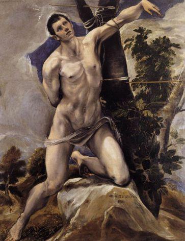 San Sebastian - El Greco (Catedral de Palencia)
