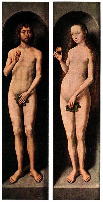 El desnudo en el arte: Adán y Eva como modelos estéticos ...