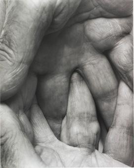Autorretrato - manos - Coplan