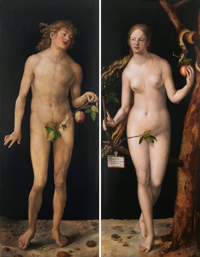 Adán y Eva - Durero