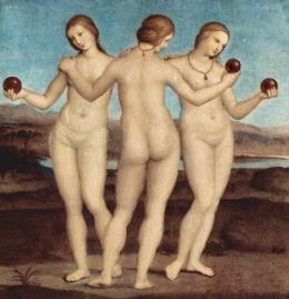 Las tres Gracias (Rafael)