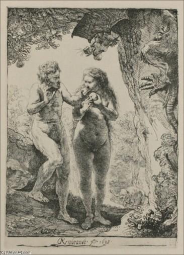 Adan y Eva - Rembrandt