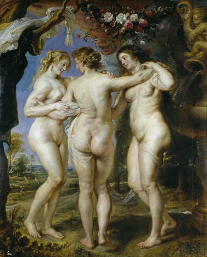 Las tres Gracias (Rubens)