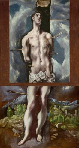 San Sebastián - El Greco (museo del Prado) - La obra completa