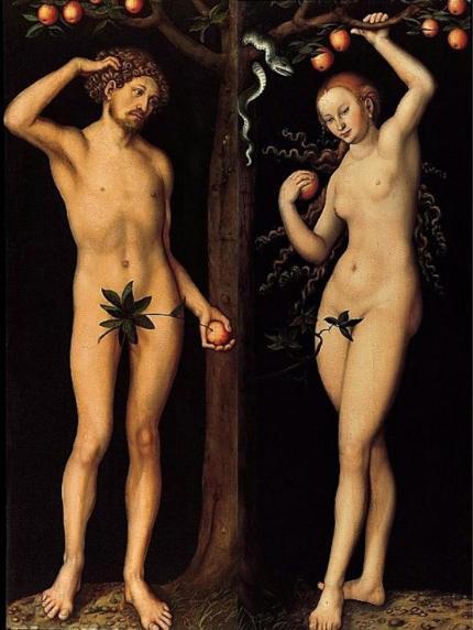 Adán y Eva - Van Eyck