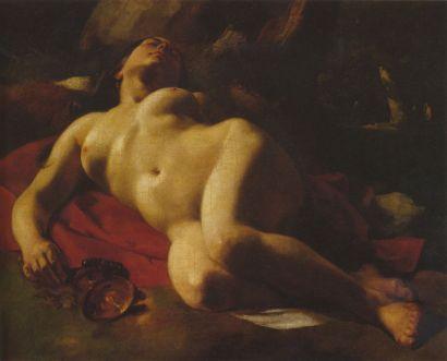 La Bacante - Courbet