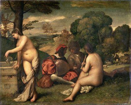 Concierto campestre - Tiziano