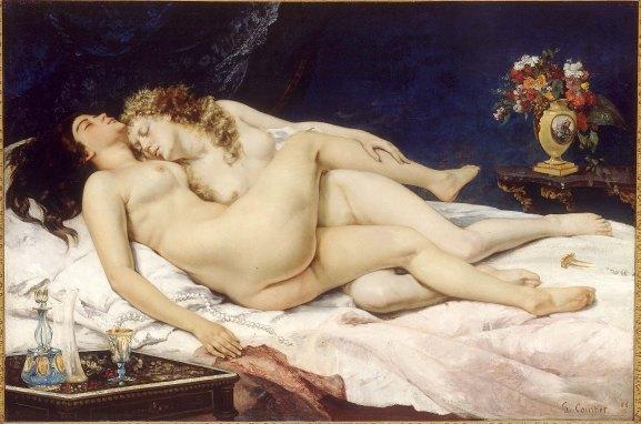 El sueño - Courbet