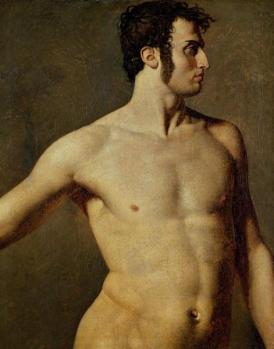 Desnudo en Malasaña (Le madrilegne moderne nude) Jean Auguste Dominique Ingres