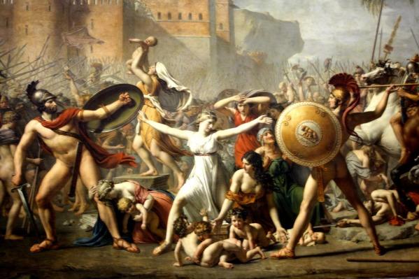 El rapto de las sabinas - Davi