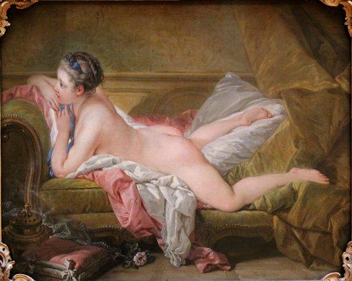 François_Boucher_-_Ruhendes_Mädchen_-_1752