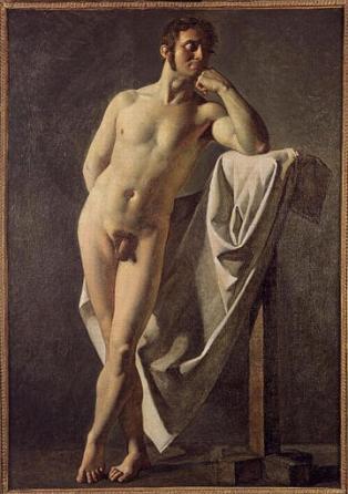 Desnudo masculino - Ingres