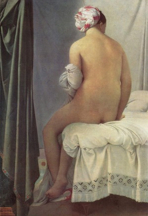 La bañista de Balpinçon - Ingres