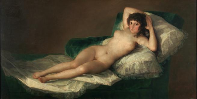 Maja desnuda - Goya