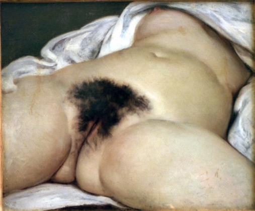 El origen del mundo - Courbet