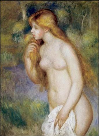 Bañista de pié - Renoir