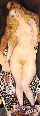 Adán y Eva - Klimt