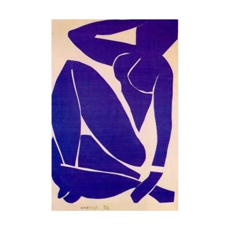 Desnudo en azul - Matisse