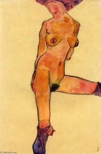 Egon-Schiele-Female-Nude