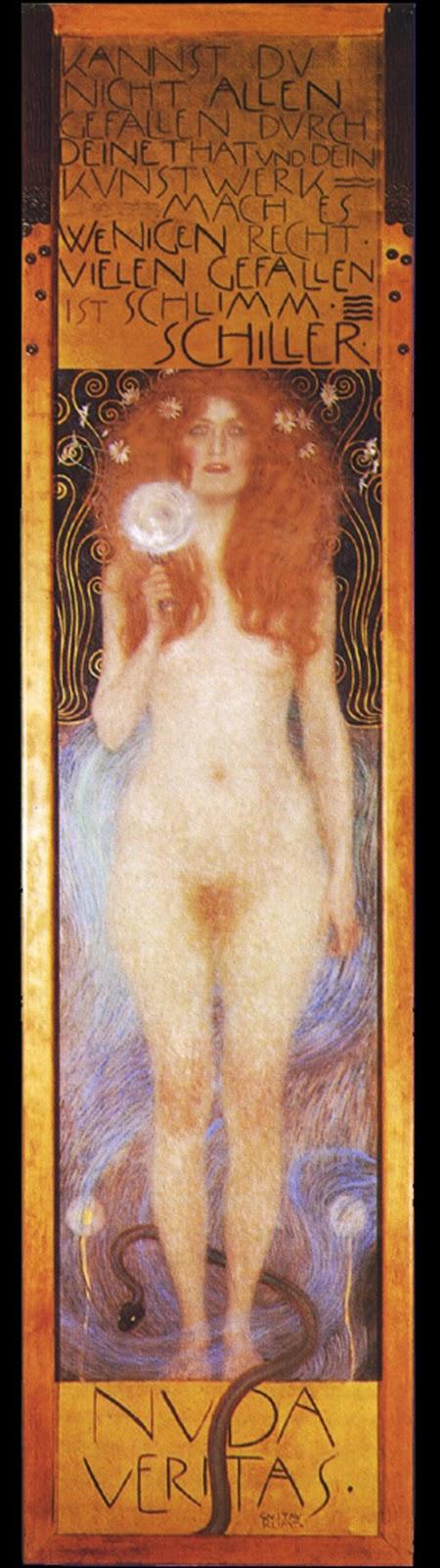El desnudo en el arte: Gustav Klimt | migueldesnudo