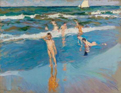 Niños en el mar - Sorolla