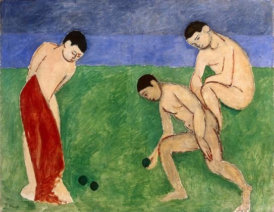 Juego de petanca - Matisse