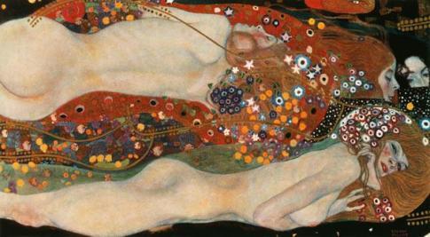 Serpientes de agua - Klimt