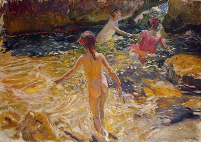 Baño - Sorolla
