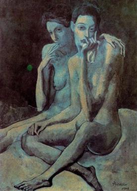 Dos amigas - Picasso