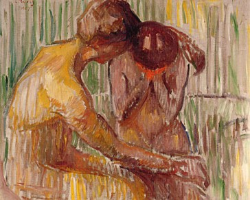 1917 Women in the Bath oil on canvas 72 x 100 cm Munch Museum, Oslo