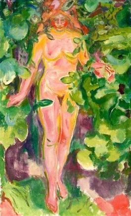 Mujer desnuda en el monte (1919)