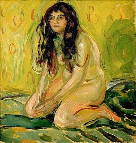 El gato (1919) - Munch