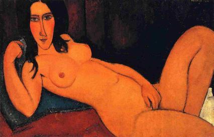 Desnudo reclinado - Modigliani