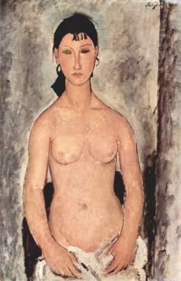 Desnudo de pié - Modigliani