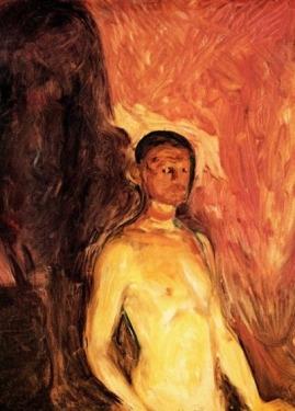 Autorretrato en el Infierno - Munch