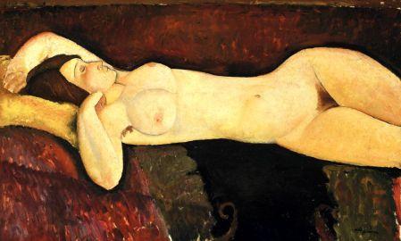 El gran desnudo - Modigliani
