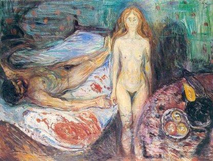 La muerte de Marat - Munch