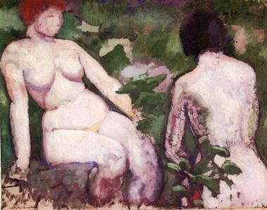 Dos desnudos - Duchamp