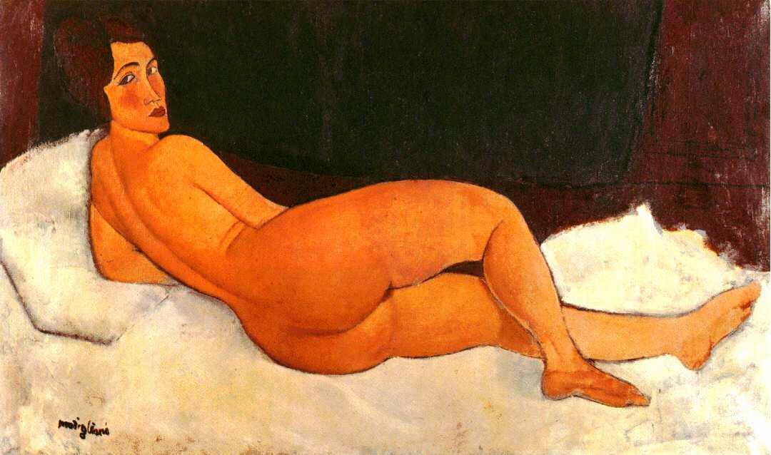 Reproducción Desnudo reclinado Reproducciones de