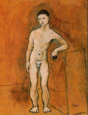 Muchacho desnudo