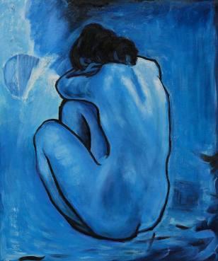 Mujer desnuda - Picasso