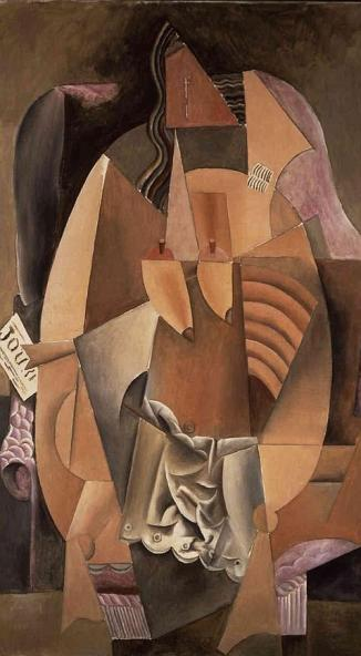 Mujer en el sofá - Picasso