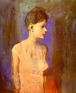 Mujer en camisa - Picasso
