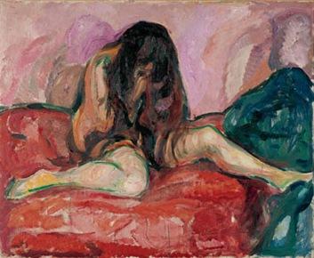 Mujer en llanto - Munch