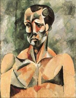 Busto de hombre - El atleta - Picasso