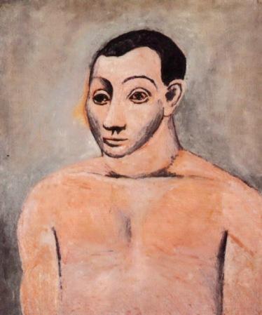 Autorretrato con paleta - Picasso