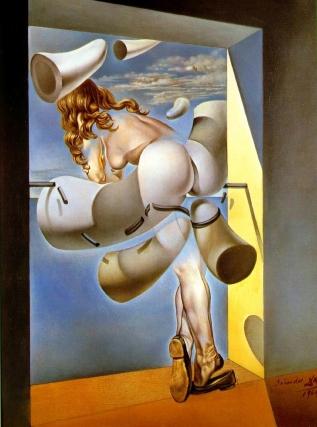 Joven virgen sodomizada por su propia castidad - Dalí
