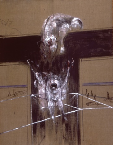 Fragmento de la crucificción - Francis Bacon