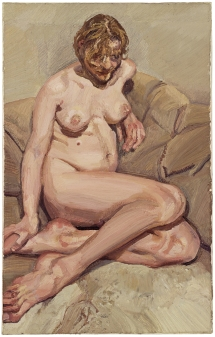 Figura sentada - Lucien Freud